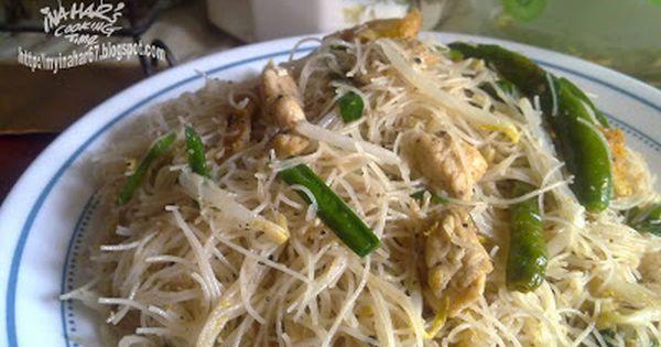 Inahar S Cooking Time Meehoon Goreng Putih Ala Singapore Asian Recipes Food Cooking Recipes