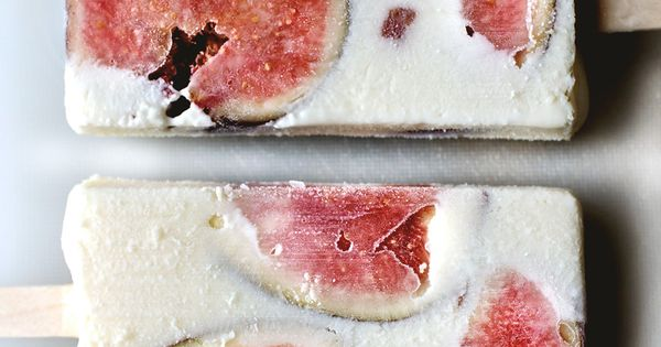 Figs and ricotta cheesecake popsicle | Recipe | Ricotta Cheesecake ...
