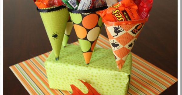 Halloween candy ideasor you could do this for kids party bag