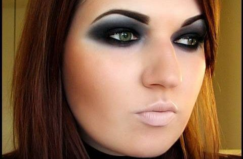 Maybe my witch makeup for halloween?