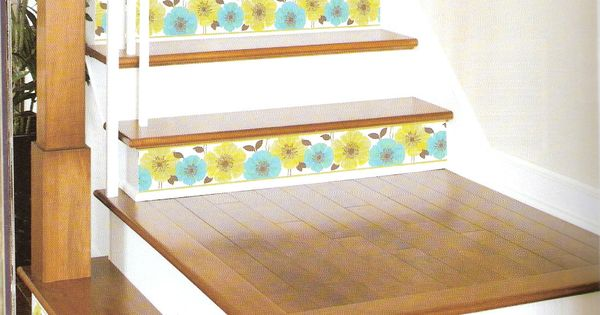 Decorating Stairs Is Easier Than Ever With Peel And Stick