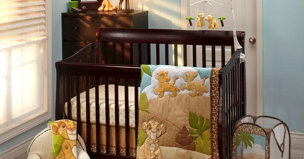 THE LION KING Urban Jungle 4-Piece Crib Bedding Set