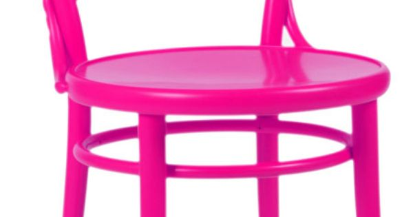 hot pink chair ~ great as kitchen chair