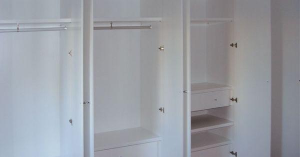 Dise o y fabricaci n de armario a medida lacado en blanco - Distribuciones de armarios ...