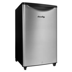 Danby 4 4 Cu Ft Outdoor Refrigerator In Stainless Steel Dar044a6bsldbo The Home Depot Outdoor Refrigerator Compact Refrigerator Stainless Steel Fridge