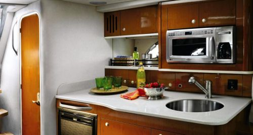 Pin By Yuliya Sorin On Sailboat Interiors Boat Galley Boat Interior Design Galley Kitchen Design