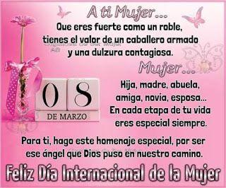 La Casita De Mabely Feliz Dia De La Mujer Feliz Dia Internacional De La Mujer Mensajes A La Mujer ¡en nombre de todo el equipo de edteam les deseamos un feliz día! pinterest