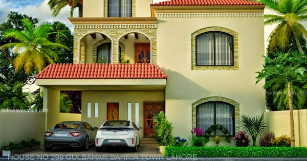 New10 Marla House European Design In 299 Gulbahar