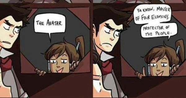 This Is Basically How Korra Flirts With Mako  The Legend -1253