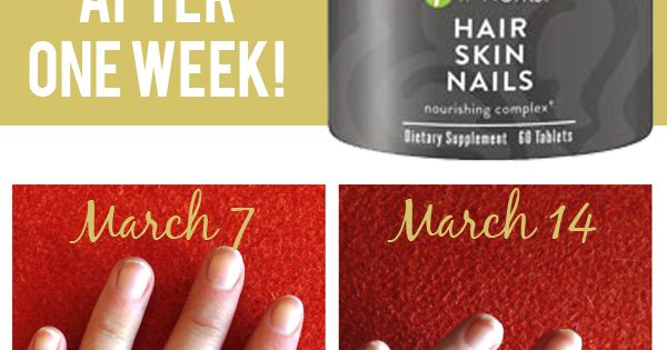One Week to Longer Hair and Nails! (this is crazy, y'all and