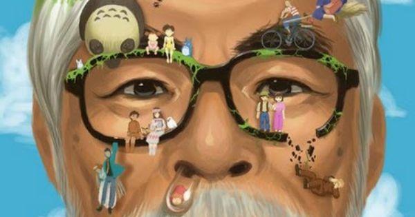 Hayao Miyazaki. I love this man