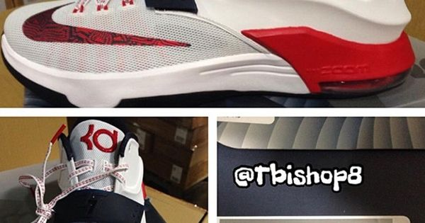 ab81062b24a2 ... hatfield heritage  first look nike kd vii usa kicks on the ground  pinterest nike und . ...
