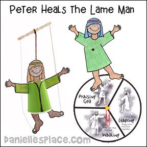 Peter Heals The Lame Man Is A Powerful Story Filled With Life