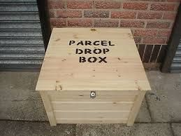 Parcel Drop Box Google Search, Outdoor Drop Box For Packages