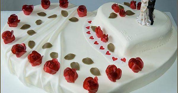 Hochzeitstorte Herz  Hochzeitstorten  Pinterest  Suche