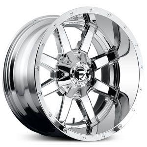 Fuel Maverick D566 Pvd Chrome Deep Lip Wheels Rims With Images Fuel Wheels Wheels And Tires Wheel Rims