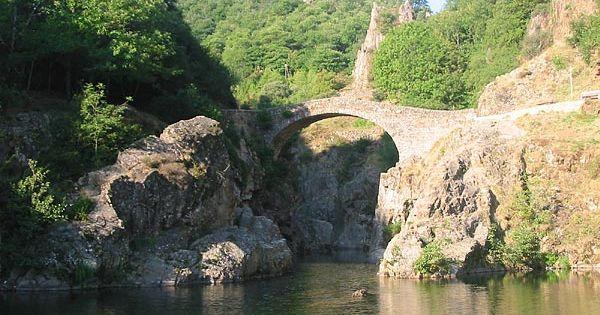 Pont du diable, Ardeche - France Ardèche Pinterest Bridges - chambre d hote antraigues sur volane