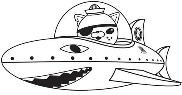 coloring page the octonauts 9 octonauts party