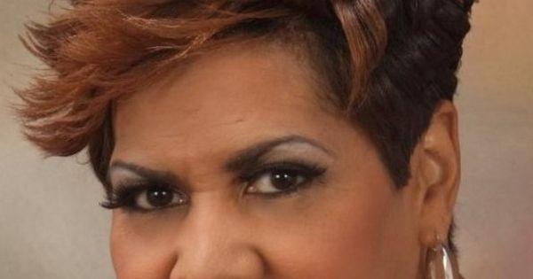 Short Bob Hairstyles For Black Women Over 50