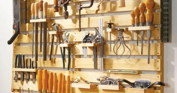 Organizador de herramientas ideas para el hogar for Cajon herramientas taller