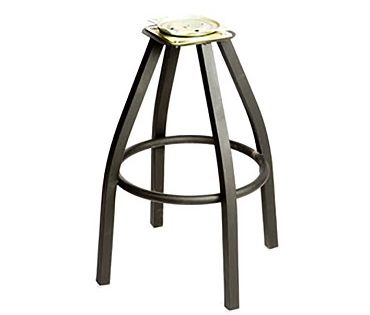Oak Street Sl2132 Bottom Replacement Bar Stool Frame For Swivel Stool Black Swivel Not Included Bar Stools Swivel Stool Stool