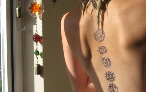 Chakras tattoo