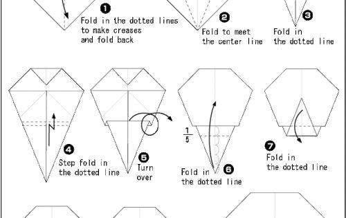 origami skull instructions origami pinterest