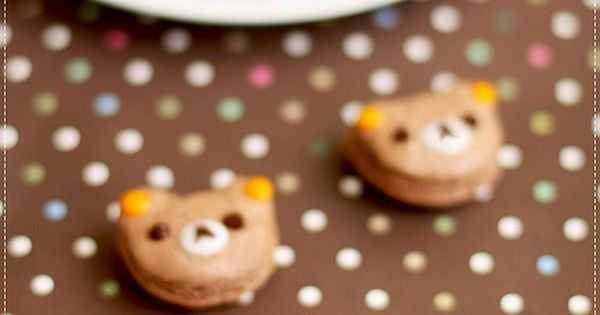 Teddy Bear Picnic Ideas macarons