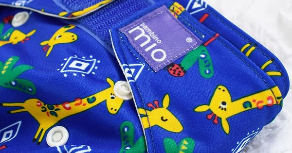 Safari Celebration Blue Bambino Mio Wet Bag