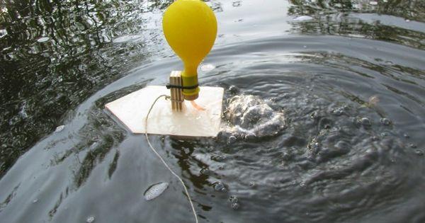1 luftballon boot mit kindern selber bauen werken pinterest kindergarten. Black Bedroom Furniture Sets. Home Design Ideas