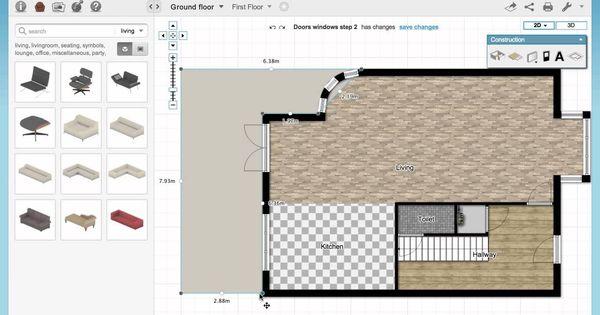 Floorplanner Basics 3 Rooms and Surfaces FLOOR PLANERCOM