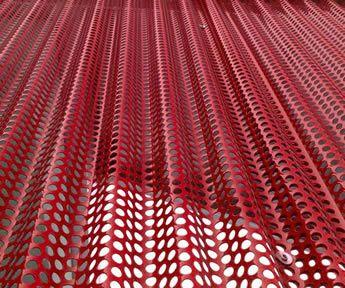 Rustic Red Sheet Metal