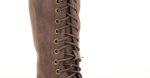Lace up boots!