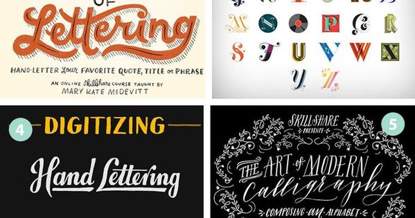 24 Awesome Hand Lettering Tutorials Hand Lettering