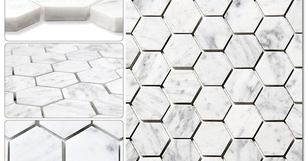 BuildDirect Marble Tile Italian Mosaic Bianco