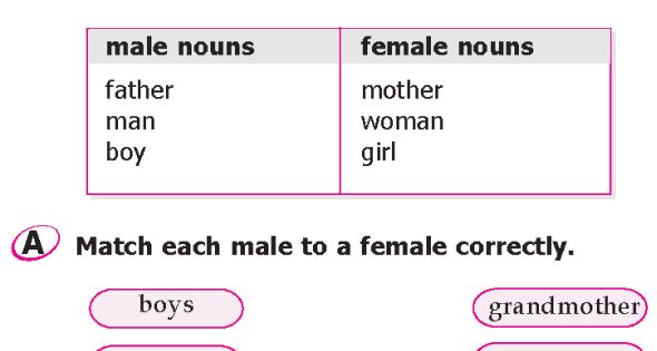 male and female english adjective use Comprehensive list of synonyms for words used to describe animals, by  macmillan  biology an androgynous animal or plant has both male and female  parts.