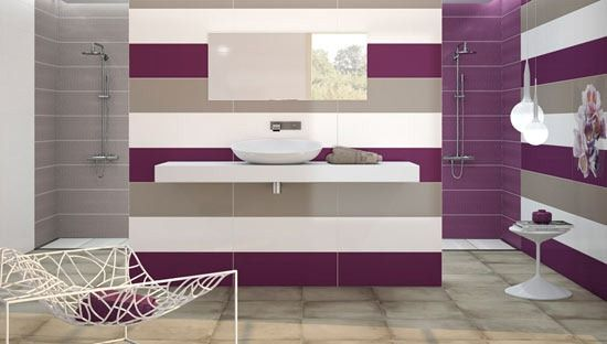 Purple Bathroom Designs Salle De Bain Violet Design De Salle De