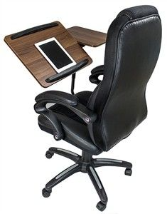 All In One Executive Chair With Built In Desk Desk Chair Office Chair Built In Desk
