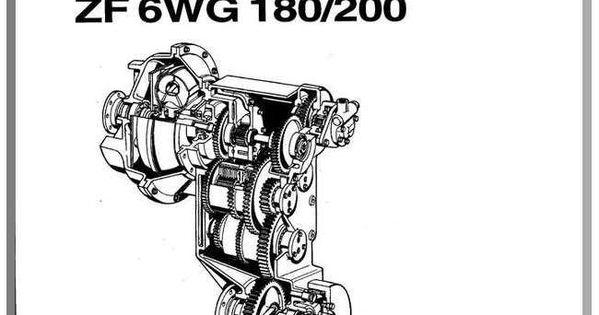 Zf As Tronic Trucks 1327 751 102b 2007 Repair Manual Repair