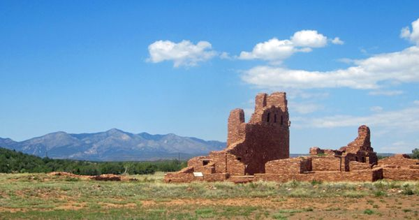 The Ruins Of Abo S Church At Salinas Pueblo Missions