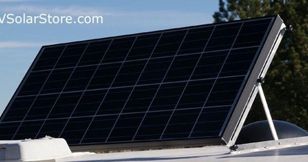 Rvsc Large Dual Tilt Rv Solar Panel Mounts Rv Solar Panels Solar Panel Mounts Rv Solar