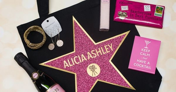 Hollywood walk of fame swag bag swag bags swag and oscar party
