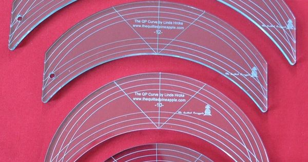 Image Of Complete Set Of The Qp Curve Templates By Linda