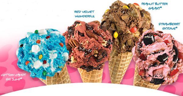 Maggie Moo S Marble Slab Creamery Buy 1 Get 1 Free Ice Cream Combinations Valid Thru June 6th Marble Slab Creamery Marble Slab Ice Cream Ice Cream