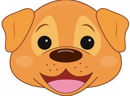Dog Mask Printable Masks For Children Pinterest Dog