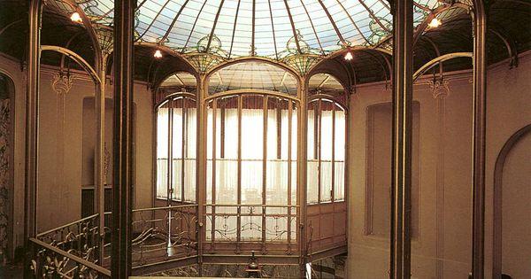 Art nouveau architectuur google zoeken gebouwen pinterest architectuur zoeken en google - Deco entreehal ...