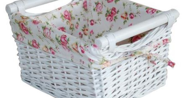 New  Basket Dunelm One For The Bathroom 7 99 Versailles Large Wicker Basket