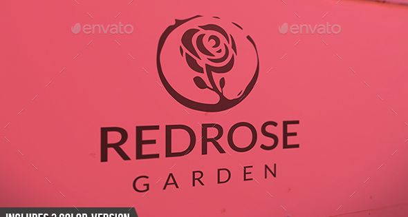 Rose Logo – Nature Logo Templates – Professional Design