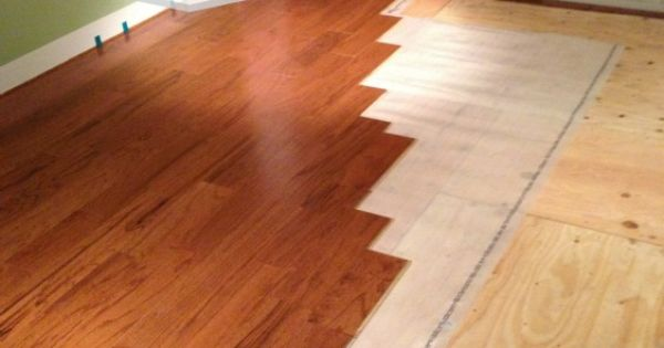 Installing engineered hardwood flooring for Bruce hardwood floors 3 8