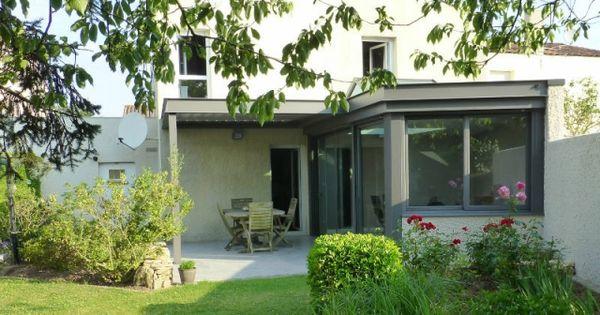 avant apr s une v randa de 20 m2 construite en bordure de propri t v randas pergola et. Black Bedroom Furniture Sets. Home Design Ideas
